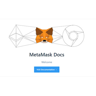 Image of the MeataMask Docs landing page